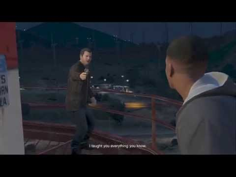 Grand Theft Auto 5 - Final Mission choice B - Save Michael