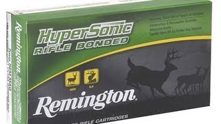 Remington Hyper Sonic Rifle Bonded Ammo - Shot Show 2013