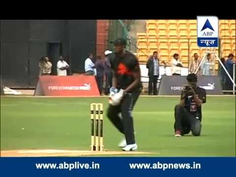 ABP News special: Usain Bolt all set to face off with Yuvraj in friendly cricket match