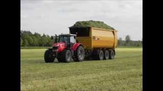 MF 7622 Dyna-6 vs MF 7624 Dyna-VT Fuel Consumption test in Silage NL2013