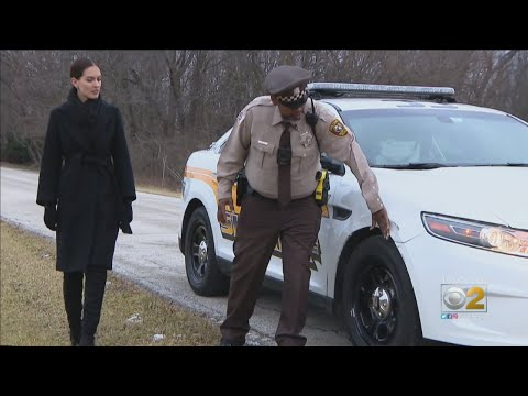 County Officer Describes Close Call On The Road