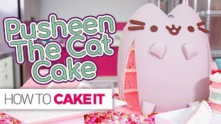 PUSHEEN Cat Cake!! | How To Cake It