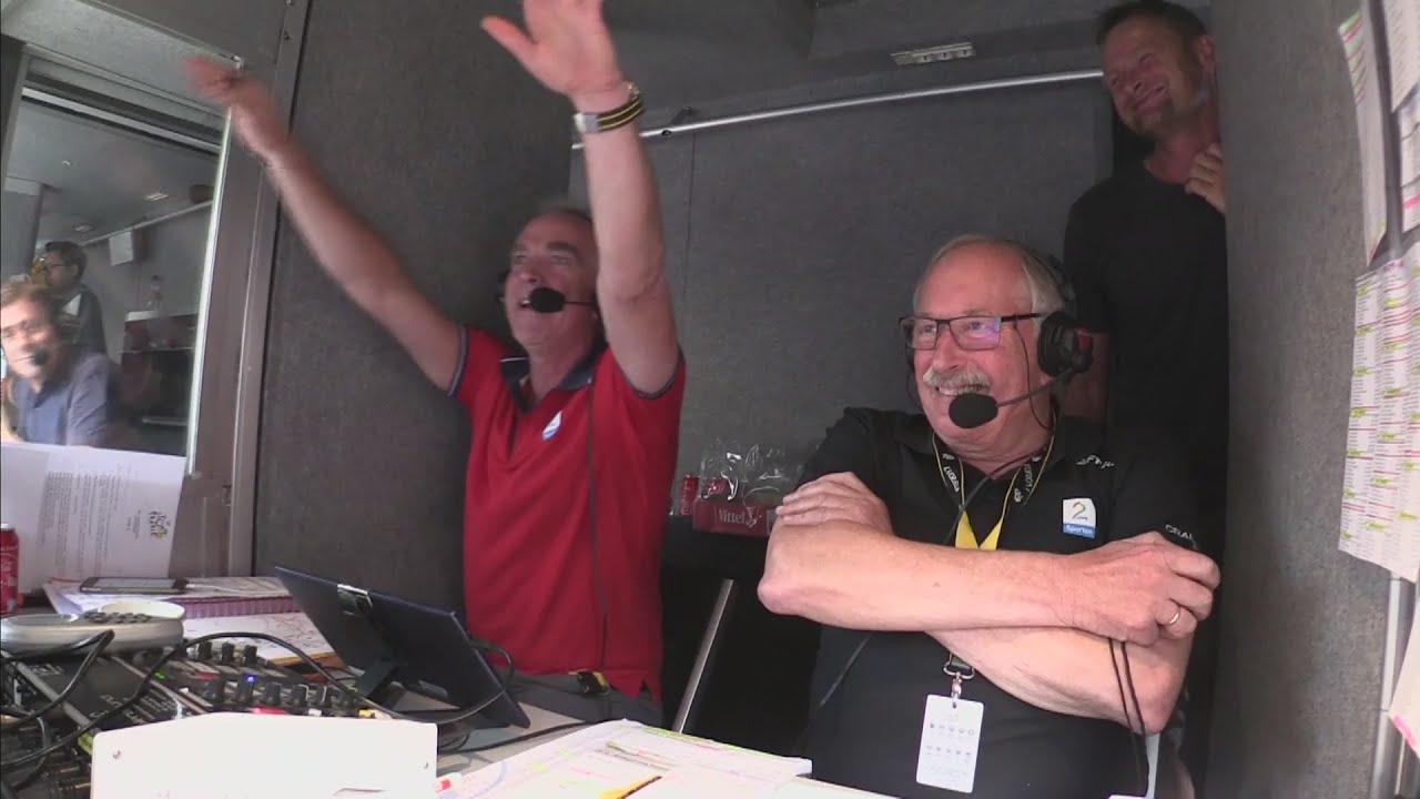 Norwegian announcers freak out over  Hagen's TDF Stage 19 win