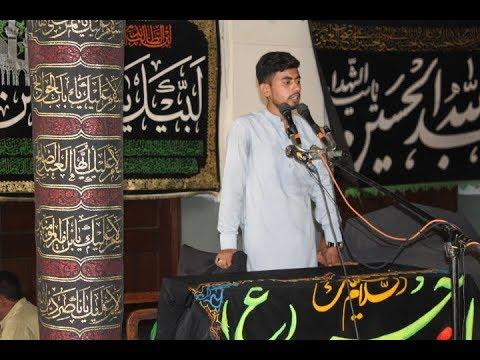 Khateeb Syed Nalain Abbas I Majlis 26 July 2018 | ImamBargah Shah Yousaf Gardeaz Multan |
