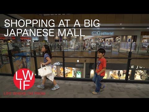 Shopping at a Big Japanese Mall