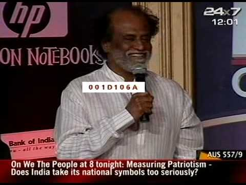 NDTV Indian Of The Year-Rajnikanth(Cinema)