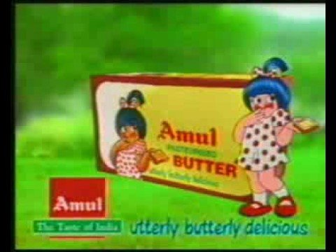 Amul Butter 1 - pOphOrn - Doordarshan Advertisement