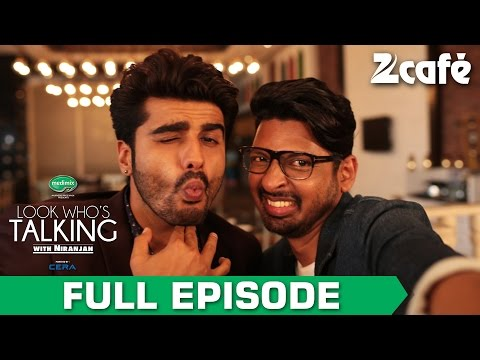 Look Who's Talking with Niranjan Iyengar - Arjun Kapoor - Full Episode - Zee Cafe