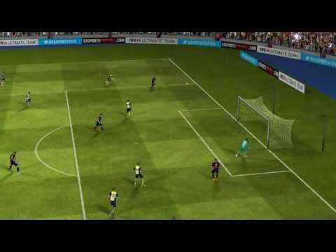 FIFA 14 Android - FC Barcelona VS Atlético Madrid