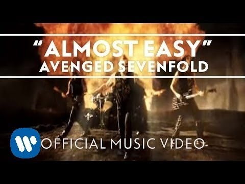 Avenged Sevenfold Almost Easy Official Music Video