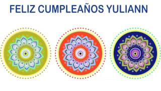 Yuliann   Indian Designs - Happy Birthday