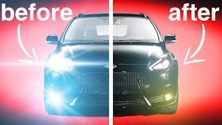 How To Install Insanely Bright Headlights Without Blinding Everyone On The Road