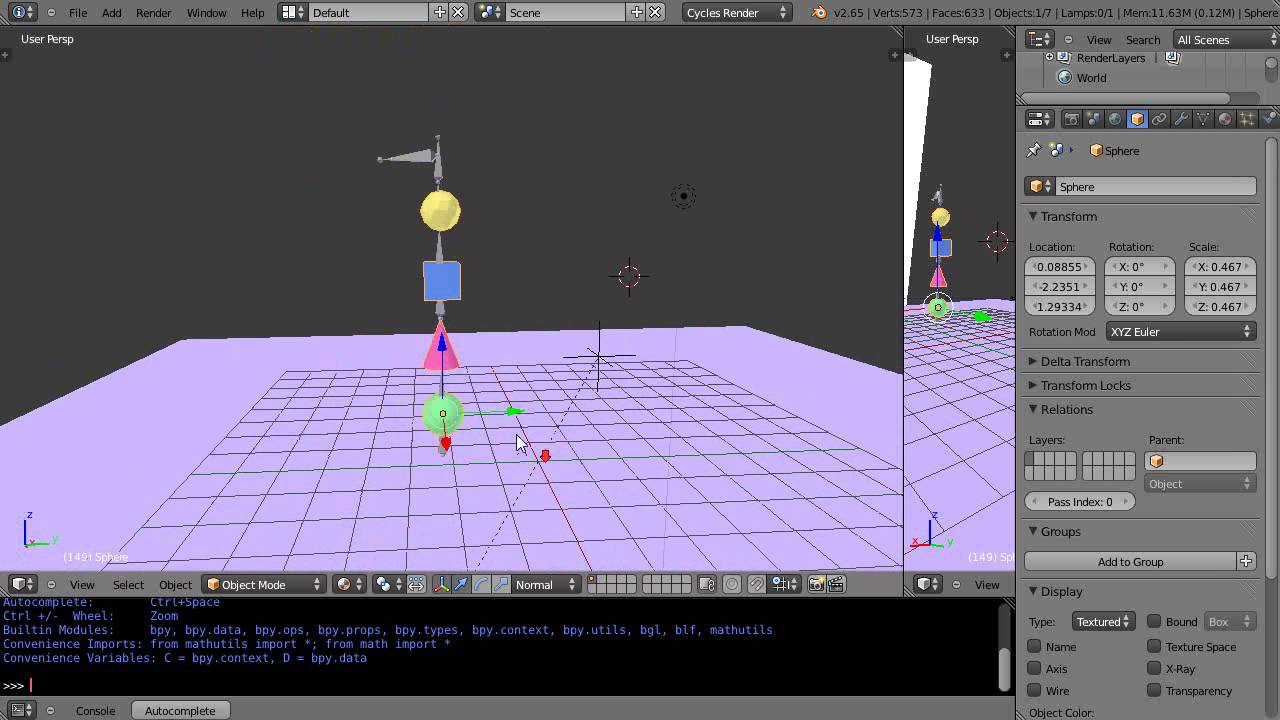 Create Multiple Animations in Blender and Import into ...