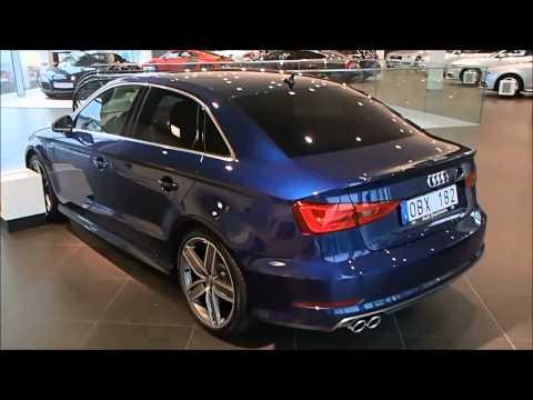 Audi a3 2014 Blue 2014 Audi a3 Sedan Scuba Blue