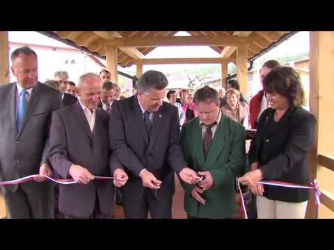 Otvoritev brvi med VDC Cerknica in domom starejših DEOS Cerknica