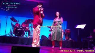 Chand Chupa Baadal Mein - Live (Udit Ji & Madhu ji)