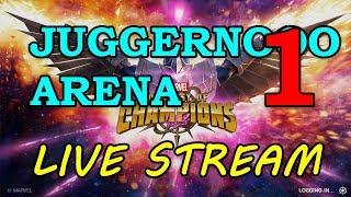 Juggernaut Arena - Round 2 - Part 1 | Marvel Contest of Champions Live Stream