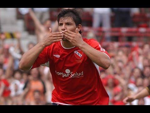 Sergio Aguero - Todos sus Goles en Independiente