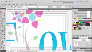 3.5 Making a Business Card_ Adobe Illustrator CS5