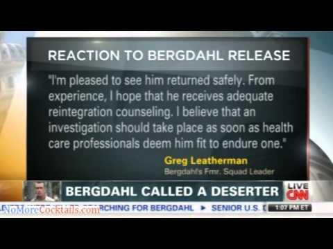 Bowe Bergdahl's fellow soldiers consider him a deserter