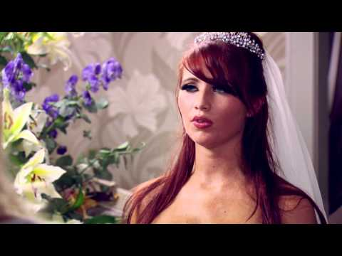 The Only Way Is Essex: Amy Childs in wedding dress