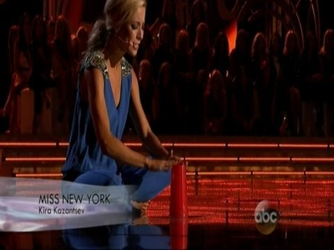 Cup Routine Wins Miss New York the Crown