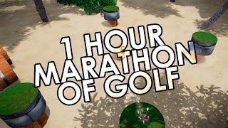 55 Hole MARATHON - Golf It w/ Dream Team