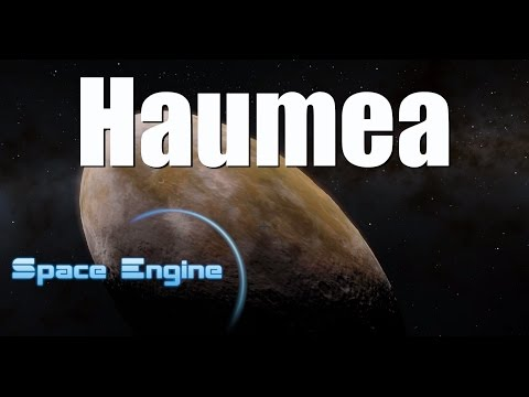 HAUMEA - the odd dwarf planet of our solar system - Space Engine