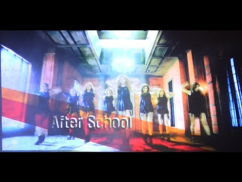 Music Bank in Chile 2012 - AFTER SCHOOL - Because of you HD720p