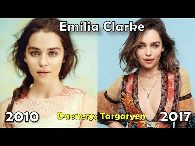 Game Of Thrones Then and Now - 2017