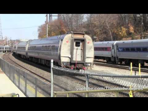 [HD] Amtrak along the Hudson River- Poughkeepsie and Hyde Park, NY