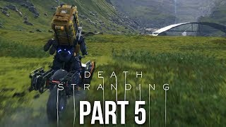 DEATH STRANDING Gameplay Walkthrough Part 5 - FIRST BIKE (Full Game)