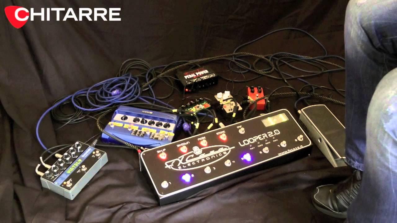Fx case looper 2 0 di simone gianlorenzi youtube for Chitarre magazine