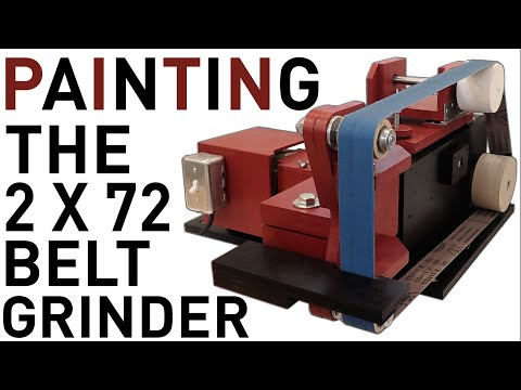 Painting The 2 X 72 Belt Grinder
