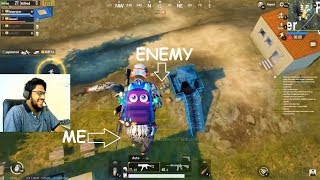 I AM SUPERMAN OF PUBG MOBILE🤣 II 100 PEOPLE PAN ONLY FIGHT II PUBGMOBILE FUNNY MOMENT WAIT FOR END