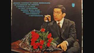Watch Serge Gainsbourg Lanthracite video