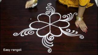 download lagu Latest Friday Kolam Designs  Dots  Simple Muggulu gratis