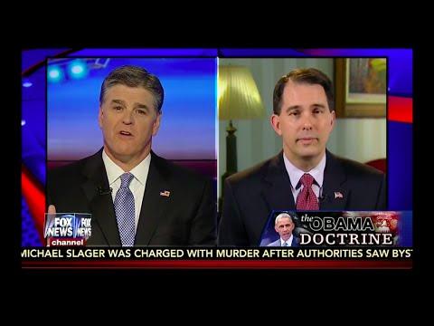 Scott Walker talks Iran, border security & South Carolina shooting on Hannity