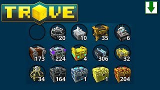 So Many Boxes! Trove Box Opening