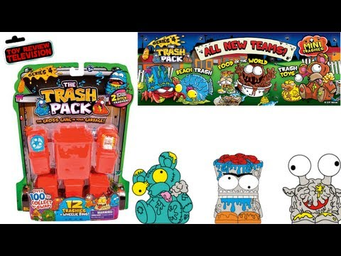 New Trash Pack Series 4. 12 Pack Trashies Toy Review Unboxing