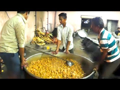 Chicken Dum Biryani | Hyderabadi Style Chicken Dum Biryani  | Streetfood