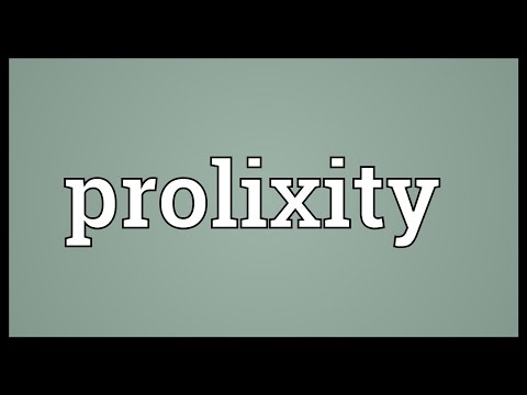 Header of prolixity