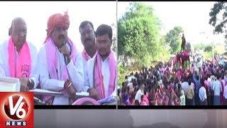TRS MLA Errabelli Dayakar Rao Election Campaign In Kodakandla Mandal | TS Assembly Polls