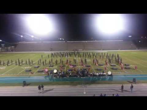 Emerald Coast Marching Classic October 18 2014 Southaven High School