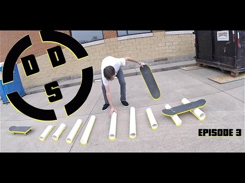 Dumpster Diving Skateboarding Episode 3