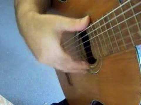 Flamenco guitar lesson - 4 stroke rasgueado - amii