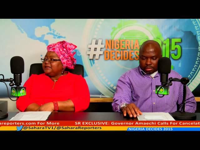 #NIGERIA DECIDES 2015 PANEL 17