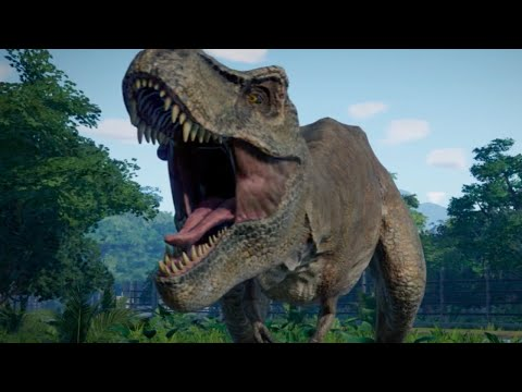 Download video Jurassic World Evolution - Official First In-Game Footage