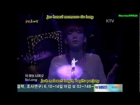 SNSD Taeyeon - Goodbye days (indo sub)