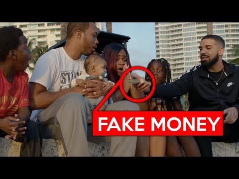 10 THINGS YOU MISSED IN Drake - God's Plan (Official Music Video)